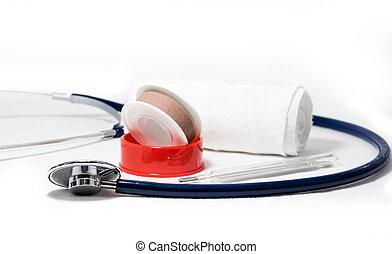 medicinsk, begrepp, redskapen