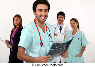 medicinsk bemand