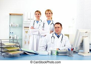 medicinsk, doctors.
