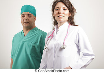 medicinsk, doktorer