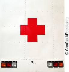medicinsk, køretøj