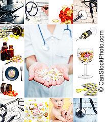 medicinsk, kollektion