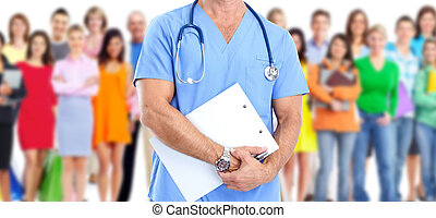 medicinsk, läkare.