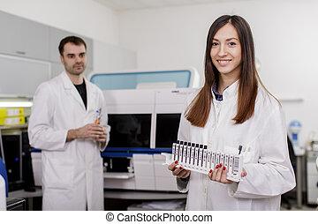 medicinsk, laboratorium