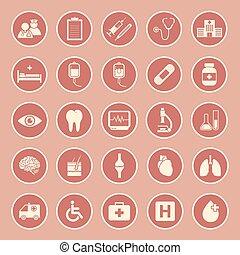 medicinsk omsorg, hälsa, ikon