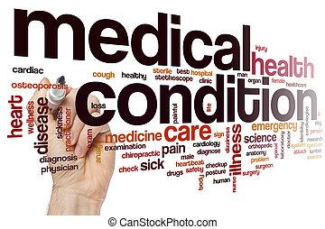 medicinsk, ord, betingelse, moln