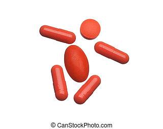 medicinsk, pillerne