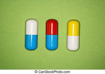 medicinsk, pills.