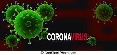 medicinsk, slag, pandemi, porslin, coronavirus, 2019-nc0v, ...