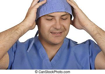 medicinsk, stress