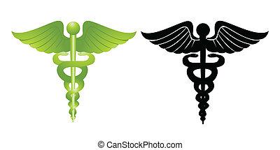 medicinsk, undertecknar