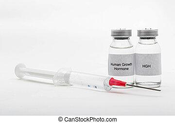 medicinsk, vials