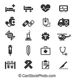 medicinske ikoner