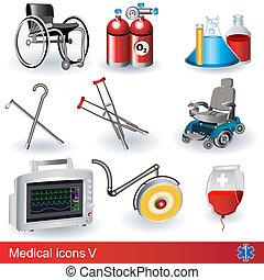 medico, 5, icone