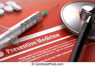 medico, -, diagnosi, medicine., preventivo, concept.