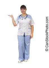 medico, donna, -