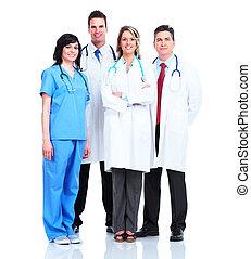 medico, dottori, group.