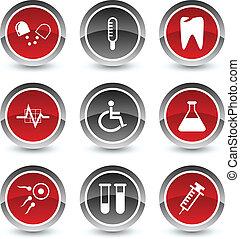 medico, icons.