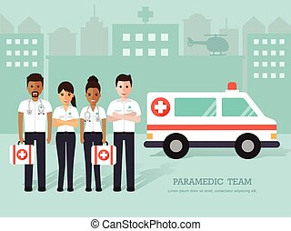 medico, paramedics, personale