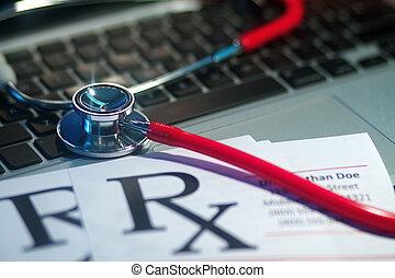 medico, stetoscopio