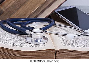 medico, worktable