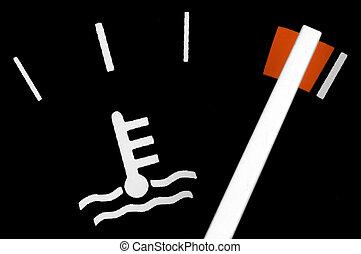medida, temperatura, motor
