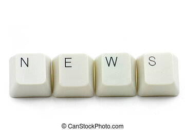 medien, begriff, on-line-nachrichten