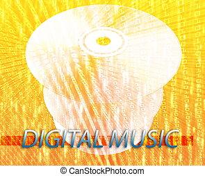 medien, musik, digital