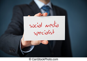medien, sozial, spezialist