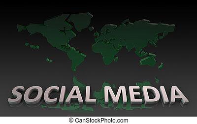 medien, sozial