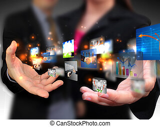 medier, branche folk, holde, sociale