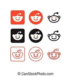 medier, reddit, sociale, iconerne