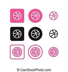 medier, sociale, dribble, iconerne