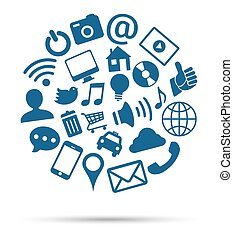 medier, sociale, iconerne