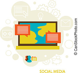medier, sociale