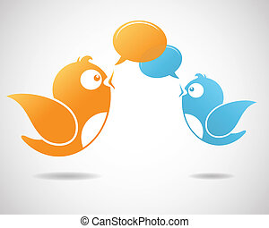 medier, sociale, kommunikation