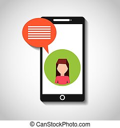 medier, sociale, netværk, iconerne