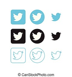 medier, twitter, iconerne, sociale