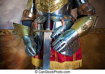 medieval, armadura