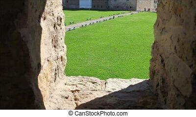 medieval Castle - HD1080: Narva Genrmann Castle Estonia