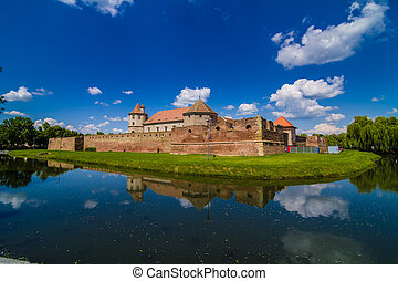 Medieval castle of Fagaras, Romania - Medieval castle and it...