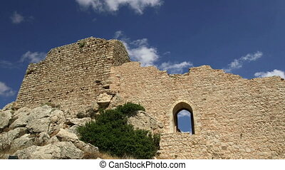 Medieval Castle of Kritinia in Rhodes, Greece, Dodecanese:...