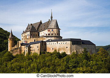 Medieval Castle of Vianden, Luxembourg - Medieval Castle...