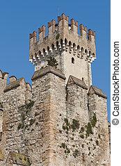 Medieval Castle on Lake Garda