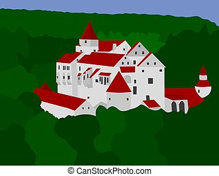 Medieval castle Pernstejn