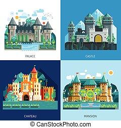 Medieval Castles Set