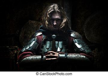 medieval, cavaleiro