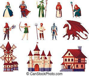 Medieval Characters Set