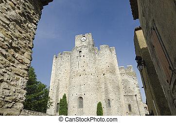 medieval church in France