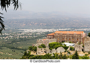 Medieval City Mystras - The abandoned medieval city of ...
